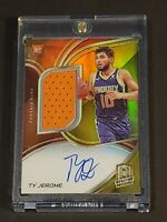 2019 Panini Spectra GOLD /10 Ty Jerome RC RPA Patch Auto Rookie Autograph