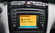 Reparatur Mercedes Comand 2.0 DX CD Fehler W203 C Klasse W209 CLK Laufwerk def
