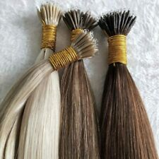 """100% Remy 25Strands (8A Grade) 20"""" 1g Nano Ring Hair Extensions-Free 25 Beads..."""