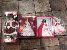 holiday barbie dolls & mary poppins