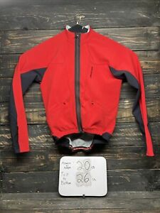Specialized Women's Size Medium Cycling Zip Jacket Red