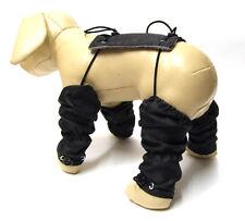 STULPEN,Beinschutz für Hunde BLACK Hundestulpen,Beinstulpen für Hunde