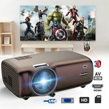 New listing 5000 Lumens Portable Mini Projector Hd 1080P Home Theater Cinema 3D Hdmi Usb Vga