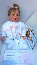 Lee Middleton Reva Schick Original Baby Real Doll Best Friend Bear Tag Certifica