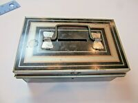 Vintage Small Metal Money Box