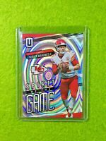 PATRICK MAHOMES PRIZM CARD JERSEY #15 CHIEFS #/100 SP 2019 Unparalleled WHIRL sp