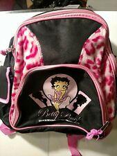 Betty Boop Wild Beauty Mini Backpack w/Water Bottle *New*