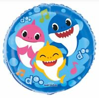 "18"" BABY SHARK (2) Mylar Foil Balloons Party Supplies Decoration"
