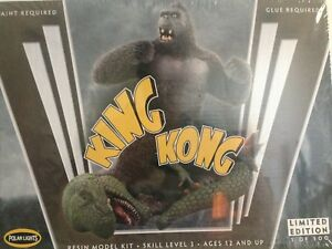 POLAR LIGHTS KING KONG 1/72 SCALE RESIN MODEL KIT 1/500 MADE DISCONTINUED MODEL