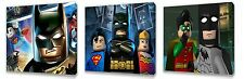 Lego Batman II Set of Three Wall / Plaques Canvas Pictures