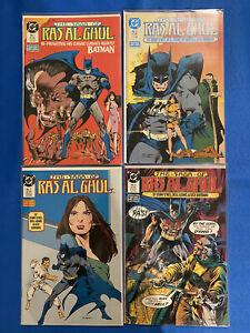 BATMAN THE SAGA OF RA'S AL GHUL COMPLETE SET 1-4 NEAL ADAMS DC 1988 NM-
