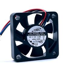 ADDA AD0412MB-G76 4010 40mm DC 12V 0.08A silent fan double ball bearing fan