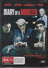 DIARY OF A MOBSTER - FRANK VINCENT - JAMES CAAN - VINCENT PASTORE -  DVD - NEW
