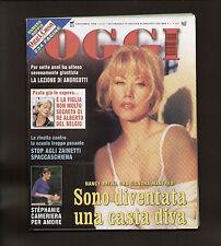 OGGI 45/1999 BRILLI TORNATORE CALENDARI VICTORIA SILVSTEDT INSERTO ARREDAMENTO