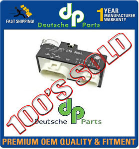 VW GOLF JETTA PASSAT 1.9 2.0 2.8 FCU RADIATOR Fan Control UNIT RELAY 3A0919506