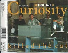 CURIOSITY KILLED THE CAT - First Place CDM 4TR UK Print 1989 RARE!