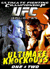 UFC Ultimate Knockouts 1 & 2 (DVD, 2009) BRAND NEW