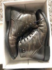 Mens Grey Freebird Cedric Boots 10