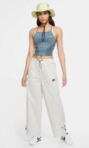 Nike Sportswear Icon Clash Women's Woven Pants CU5979 072 Sz MEDIUM $85