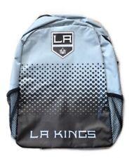 La Kings Los Angeles Nhl Ice Hockey Fade Logo Bag Backpack