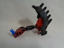 Lego Bionicle Black / Red Head Parts Only - AS IS