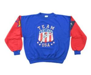 Vintage Team USA Olympic Sweater Sz M Adidas