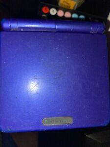 Nintendo Game Boy Advance SP Cobalt Blue Handheld System