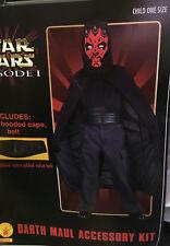 Star Wars Episode 1 Darth Maul Costume Accessory Kit Child Size