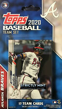 Atlanta Braves 2020 Topps Factory Sealed Team Set  Albies  Acuna  Swanson  Plus