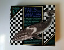 Tails for Whales Puzzle/Game Trivia Ocean Facts Matching Box Teacher Homeschool