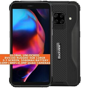"""BLACKVIEW BV5100 RUGGED 4gb 128gb Octa Core Waterproof 5.7"""" Dual Sim Android NFC"""