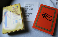 Ishbel's Temple of Isis Egyptian Tarot Still Sealed 1989 Vintage Deck Cards