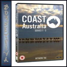 Coast Australia Series 1 - 3 UK DVD