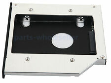 New 2nd Hard Drive HDD SSD Caddy Adapter For HP HDX 16 1050EV Swap BC-5500S DVD