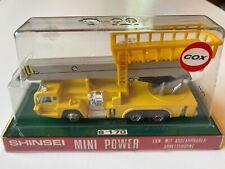 SHINSEI Mini Power Aerial Work Vehicle Boom Truck - Diecast Model #4106
