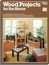 Wood Project For The Home (1980) - More Than 50 Step-by-Step Projects!