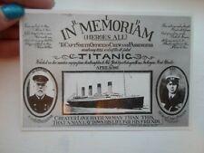 TITANIC CREW Memorabilia - Repro Postcard  §F336