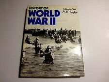 History of World War II by A.J.P. Taylor and S. L. Mayer (1974, Book,. FREE S/H