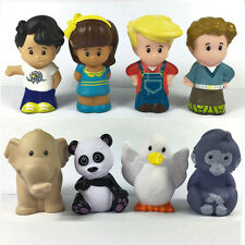 Fisher Price Little People Farm Zoo Animal & people Friendship Figure Lot 8Pcs