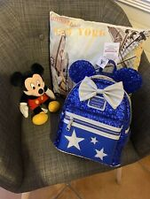 Loungefly Disney Minnie backpack sac à dos Wishes blue sold out