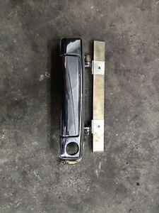 BMW E23 E24 driver front left chrome handle early 51211847587