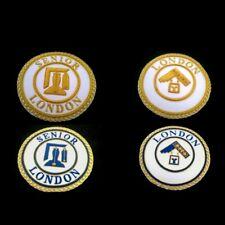 More details for masonic regalia-craft provincial london grand rank (lgr) & (slgr) apron badges