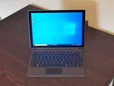 Microsoft Surface Pro 4 Core i5-6300U Windows 10 Pro With Keyboard. 1724