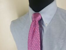 """CHARLES TYRWHITT  New  100% Pure Silk Tie  3.5 """" x 60""""    Mint"""