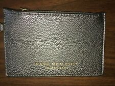 Marc Andrew New York Andrew Marc Grey Pebbled Faux Leather Wristlet Wallet NWOT