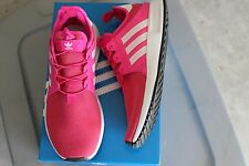 NEW GIRLS ADIDAS SZ 4 SHOES PINK  X PLR J BB2827