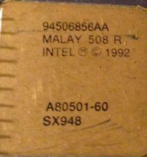 :  SX948 (Intel Pentium 60 MHz)  A80501-60 Gold content Processer