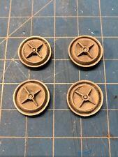 Resin Set of 4 Crossbar Custom Hubcap Wheel Cover