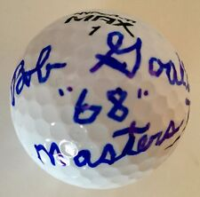 Bob Goalby MASTERS CHAMPION Signed Wilson Hyper Ti Max Golf Ball PSA/DNA COA #2