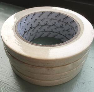 "x4 Rolls Holdfast Masking Tape Roll 1/2"" Wide. Automotive Decorator Art Crafts"